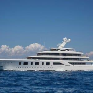 2016 92 m M/Y Aquarius For Charter
